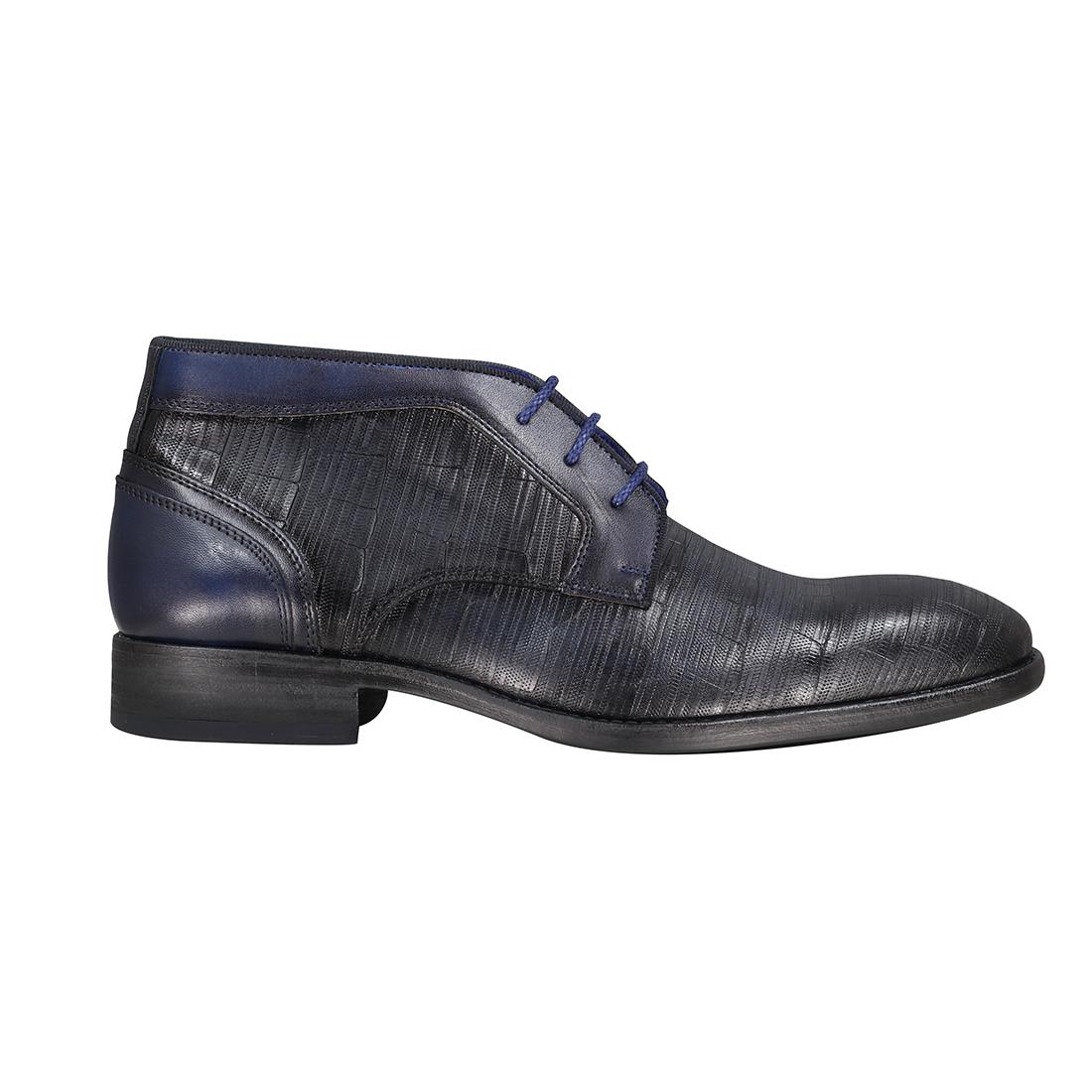 Braend schoenen 25006 in het Donker Blauw