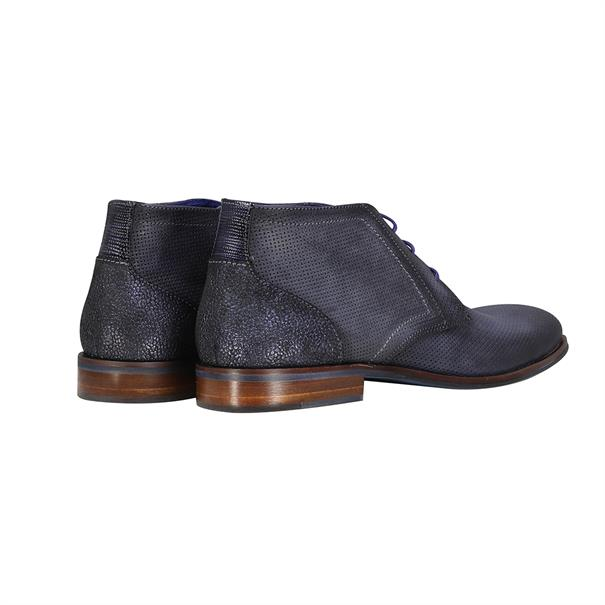 Braend schoenen 25094 in het Donker Blauw