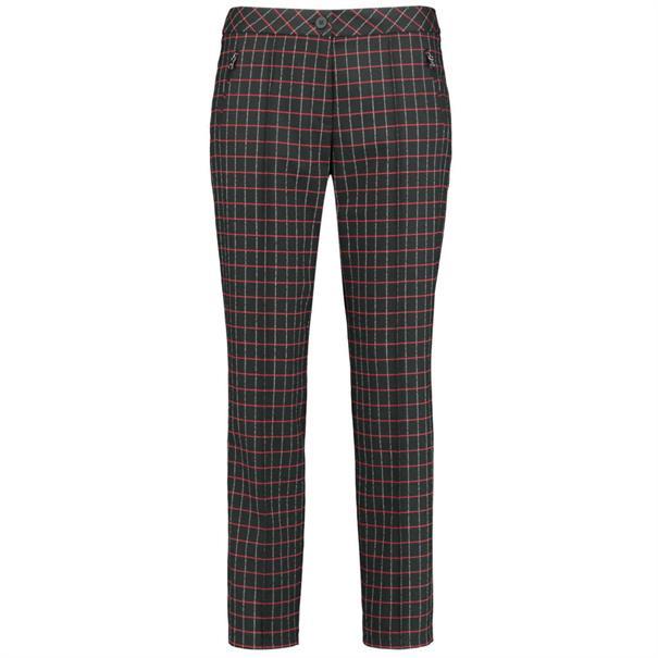 broek 220011-31427 in het Zwart / Rood