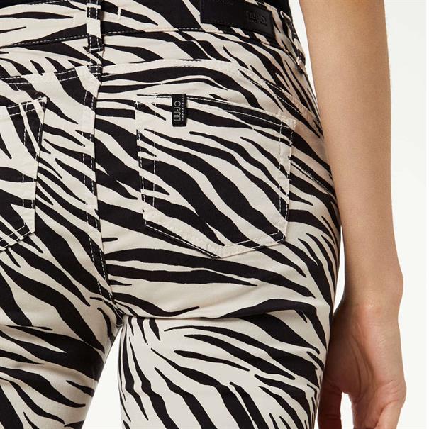 broek w69-084 in het Zwart / Wit