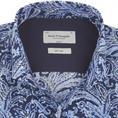 Bruun & Stengade overhemd Slim Fit aaron in het Blauw