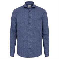 Bruun & Stengade overhemd Slim Fit Yngve in het Donker Blauw