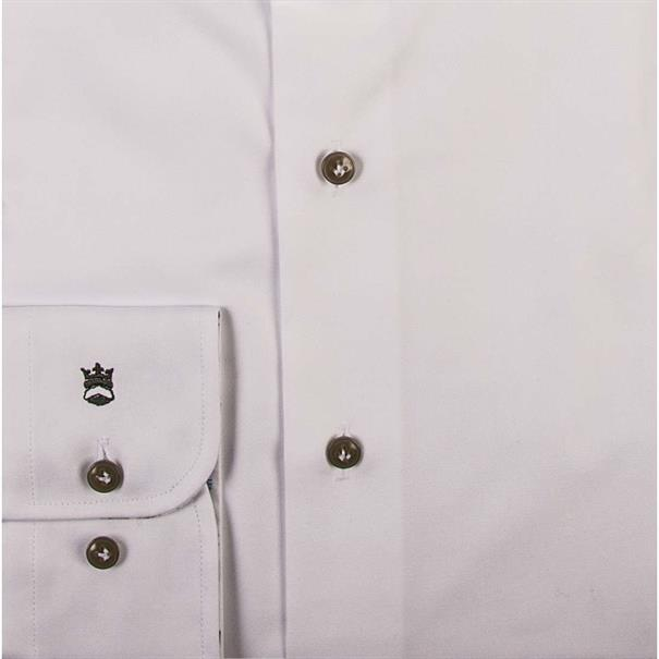 business overhemd Tailored Fit 91-7725a in het Wit