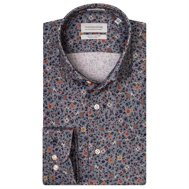 business overhemd Tailored Fit 927710 in het Blauw