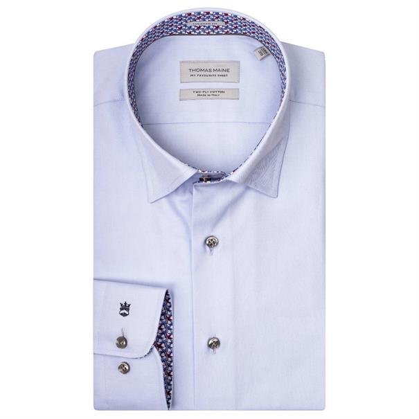 business overhemd Tailored Fit 927725a in het Licht Blauw