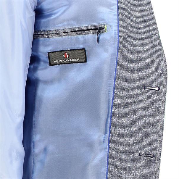 Cabano colbert Modern Fit 3050-41851 in het Blauw