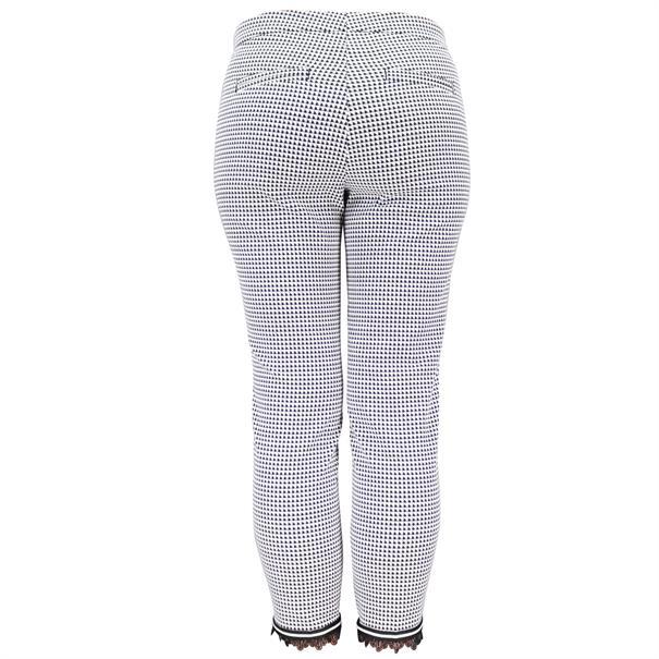 Cambio broek 8711-0374-15 in het Zwart / Wit
