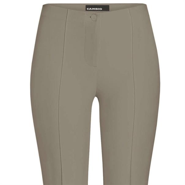 Cambio broek Slim Fit 6111020200 in het Greige