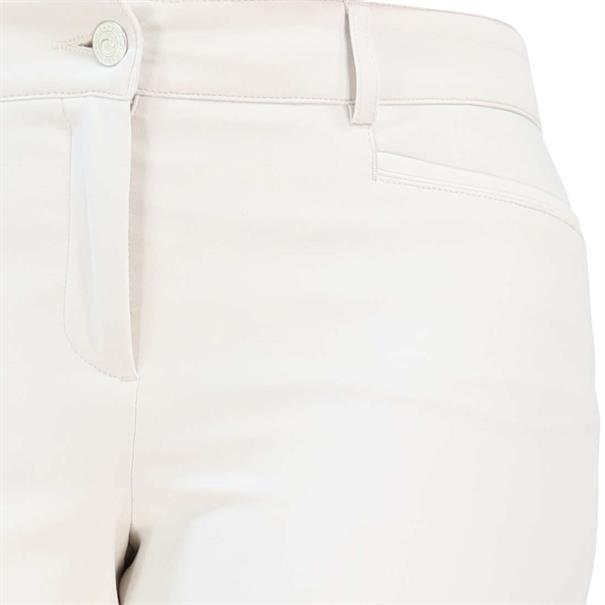 Cambio broek Slim Fit 6111028511 in het Offwhite