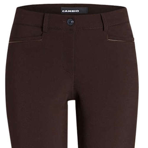 Cambio broeken 6111-028511 in het Donker Bruin