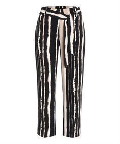 Cambio broeken 6771021503 in het Zwart / Beige