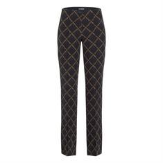 Cambio broeken 6789-035001 in het Zwart / Bruin