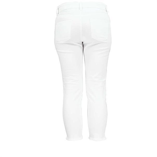 Cambio broeken 7641-003857 in het Wit