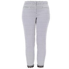 Cambio broeken 8711-0374-15 in het Zwart / Wit
