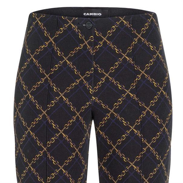 Cambio pantalons 6789-035001 in het Zwart / Bruin