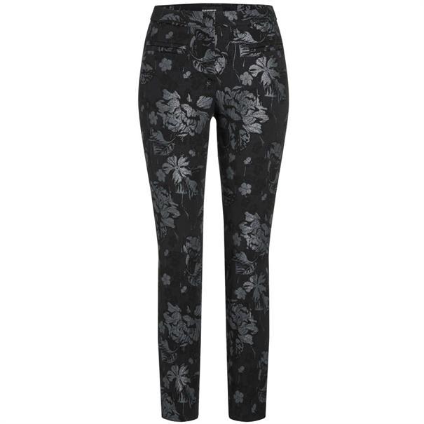 Cambio pantalons 8726-037419 in het Zwart / Grijs