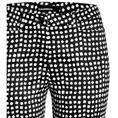 Cambio pantalons River 8767-024500 in het Zwart / Wit
