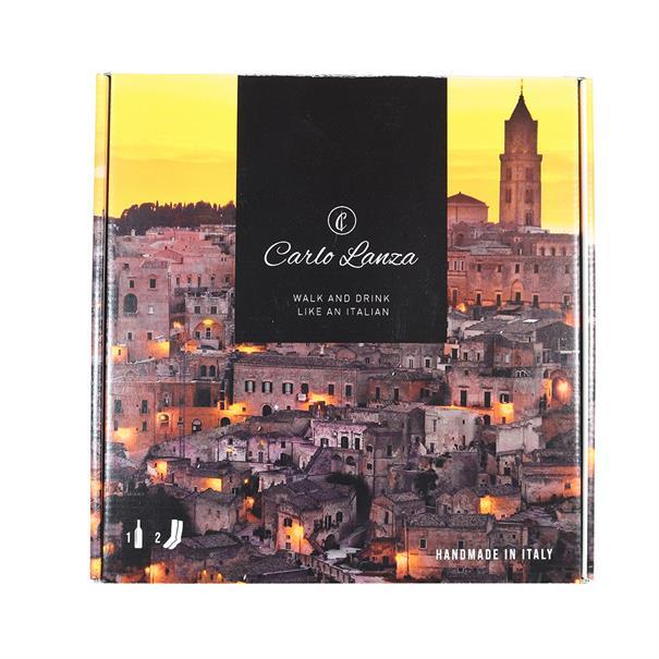 Carlo Lanza accessoire givebox in het Geel