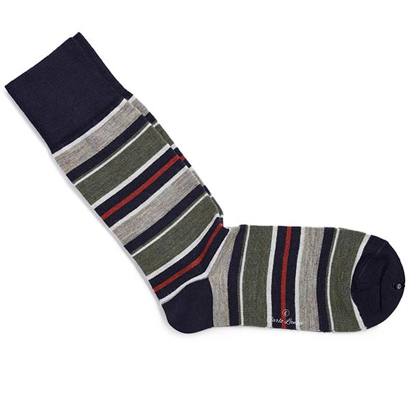 Carlo Lanza sokken 200-16 in het Zwart