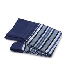 Carlo Lanza sokken 500-24 in het Blauw
