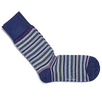 Carlo Lanza sokken 500-25 in het Donker Blauw