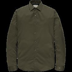 Cast Iron business overhemd Slim Fit CSI207642 in het Groen