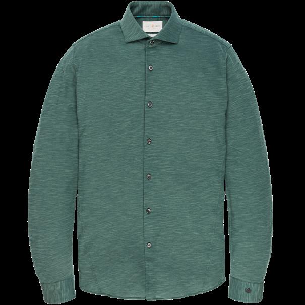 Cast Iron casual overhemd csi196616 in het Groen