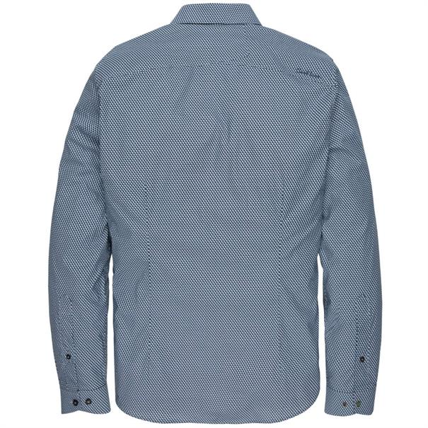 Cast Iron casual overhemd csi196638 in het Donker Blauw