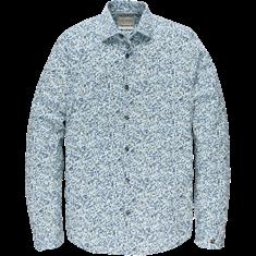 Cast Iron casual overhemd CSi205602 in het Blauw