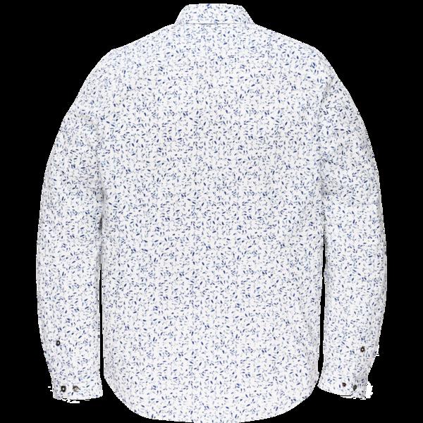 Cast Iron casual overhemd CSI205604 in het Wit