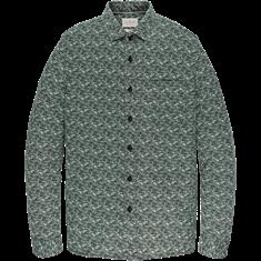 Cast Iron casual overhemd CSI206622 in het Groen