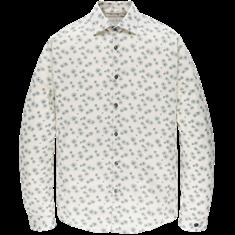 Cast Iron casual overhemd CSI207630 in het Beige