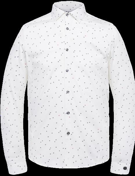 Cast Iron casual overhemd CSI212212 in het Beige