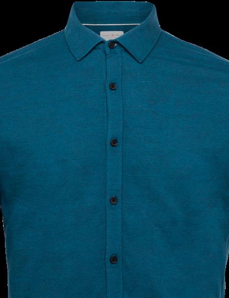 Cast Iron casual overhemd CSI212219 in het Inkt