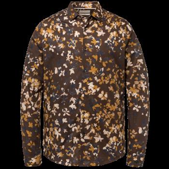 Cast Iron casual overhemd CSI215201 in het Bruin