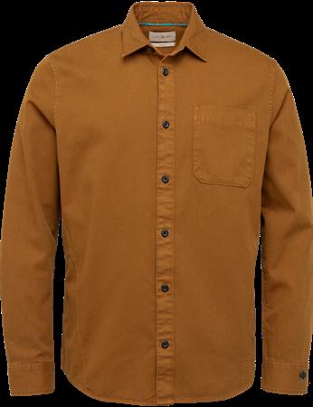 Cast Iron casual overhemd CSI215207 in het Grijs