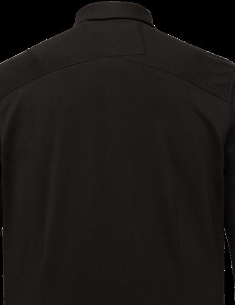 Cast Iron casual overhemd CSI216214 in het Zwart