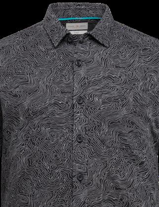 Cast Iron casual overhemd CSI216216 in het Zwart