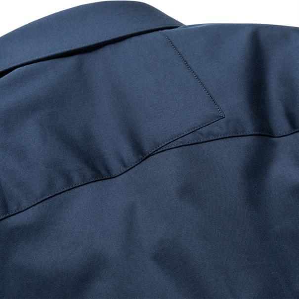 Cast Iron casual overhemd Slim Fit CSI00429 in het Indigo
