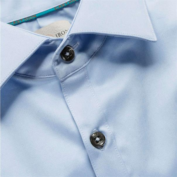 Cast Iron casual overhemd Slim Fit CSI00429 in het Licht Blauw