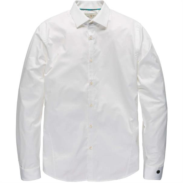 Cast Iron casual overhemd Slim Fit CSI00429 in het Wit