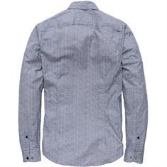 Cast Iron casual overhemd Slim Fit csi185673 in het Donker Blauw