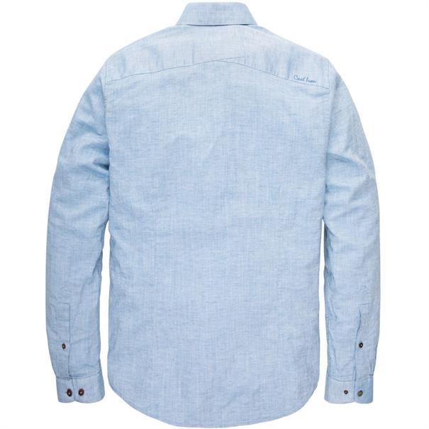 Cast Iron casual overhemd Slim Fit csi193642 in het Blauw