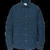 Cast Iron casual overhemd Slim Fit csi195602 in het Donker Blauw