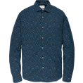 Cast Iron casual overhemd Slim Fit csi195602 in het Donker Blauw