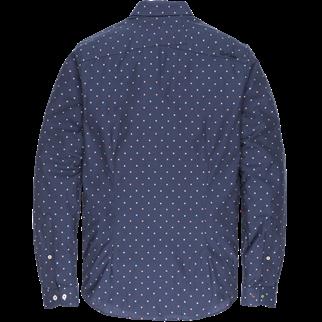 Cast Iron casual overhemd Slim Fit csi196624 in het Donker Blauw