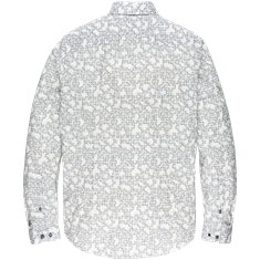 Cast Iron casual overhemd Slim Fit CSI206626 in het Beige