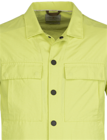 Cast Iron casual overhemd Slim Fit CSI211204 in het Lime