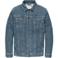 Cast Iron colberts Slim Fit cdj201500 in het Denim