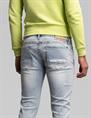 Cast Iron jeans Riser CTR211708 in het Wit